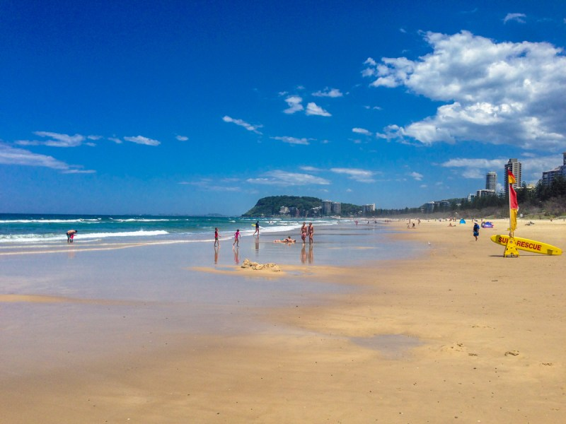 Burleigh Heads Beach Gold Coast
