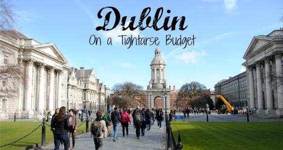 Dublin on a Tightarse Budget