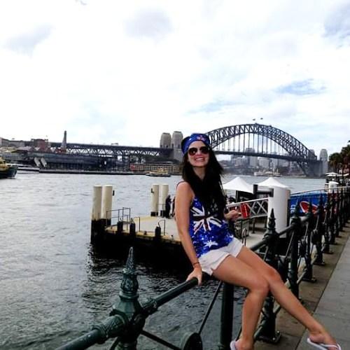 Courtney Jones in Sydney