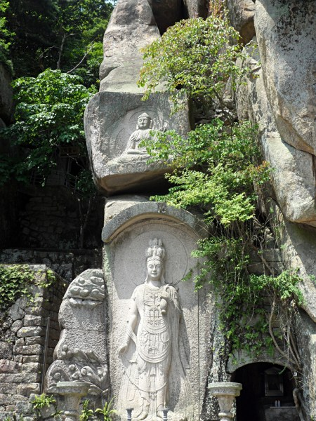 Stone carvings at Seokbula Korea