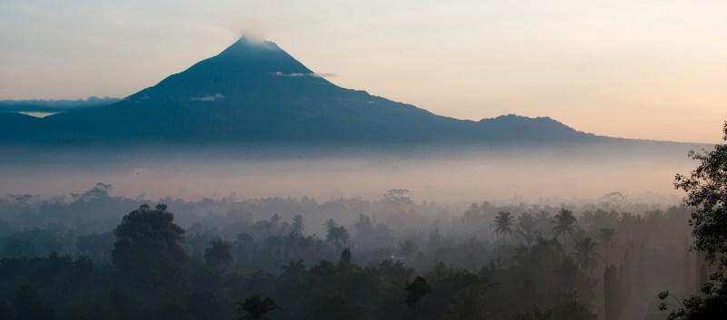 Mount Merapi Yogyakarta Indonesia
