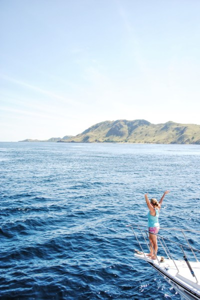 Sarah Feeling free sailing through Komodo National Park