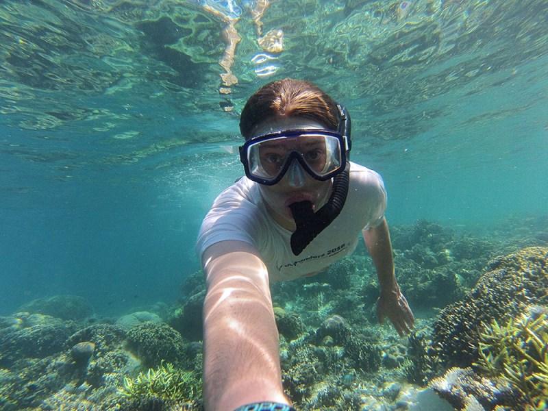 Snorkelling at Kanawa Island, Flores, Indonesia