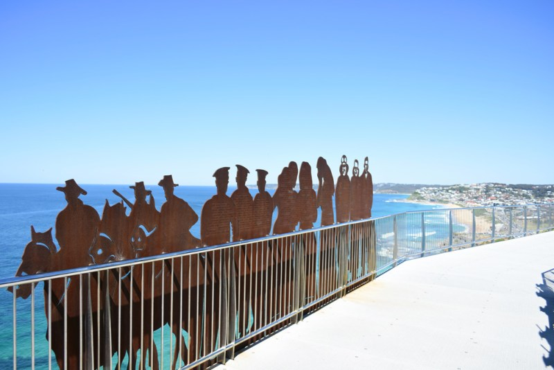 Anzac Memorial Walkway, Bar Beach, Newcastle