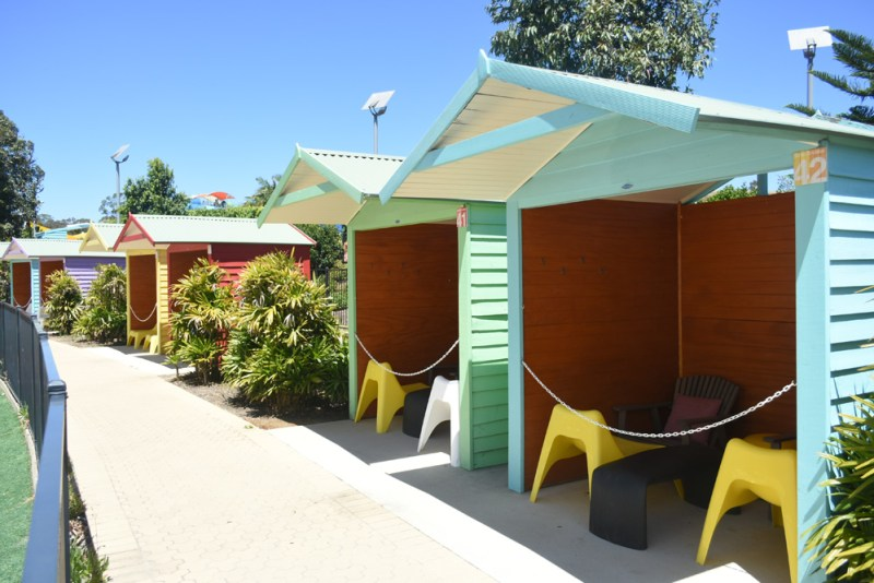 Cabanas at Wet n Wild Sydney