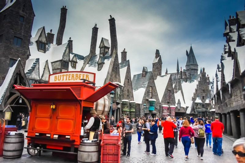 Hogsmeade in Universal Studios Hollywood