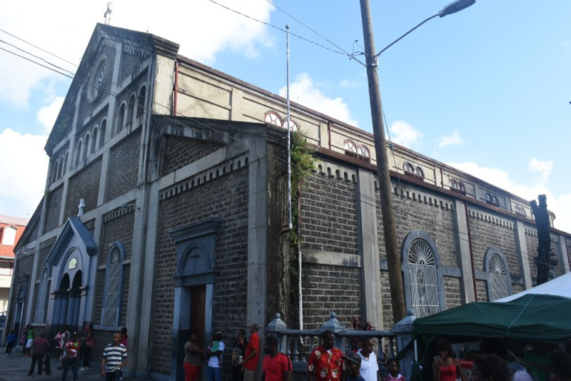 Cathedral of the Immaculate Conception in Castries, St Lucia