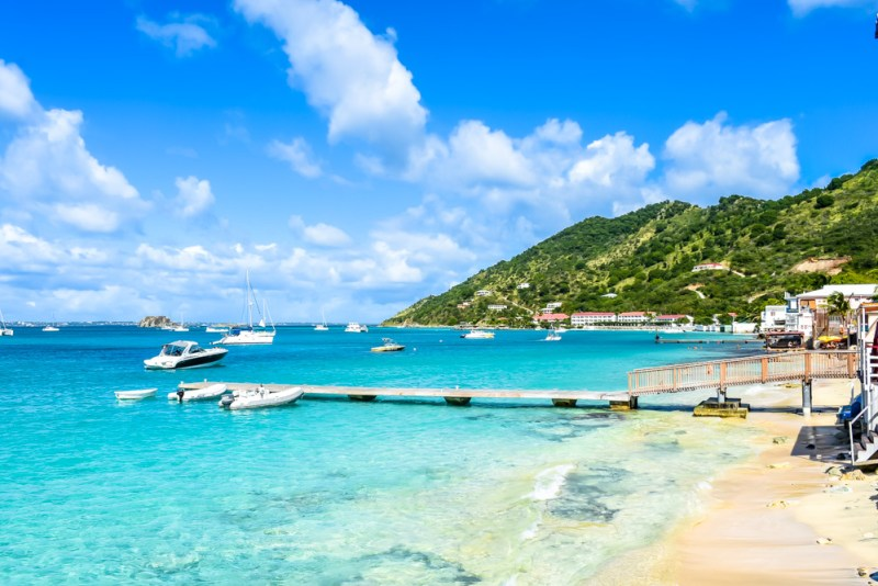 Grand Case Beach St Maarten
