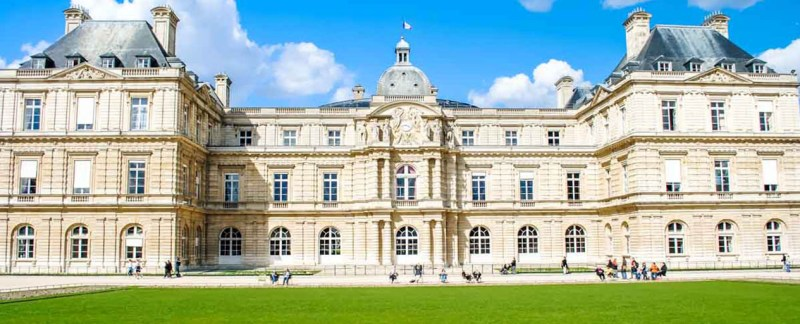 Palais du Luxembourg Paris France header