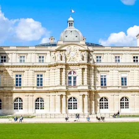 Palais du Luxembourg Paris France header