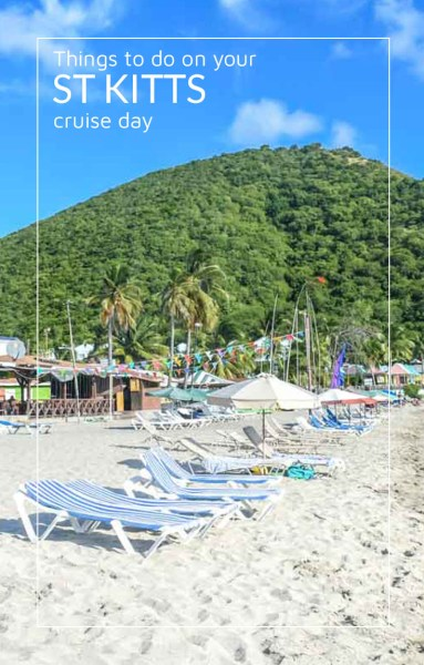 South Frigate beach, one of many things to do on your cruise day ashore.