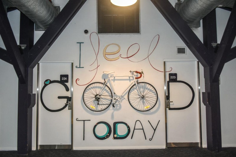 I feel good today YHA Railway Square