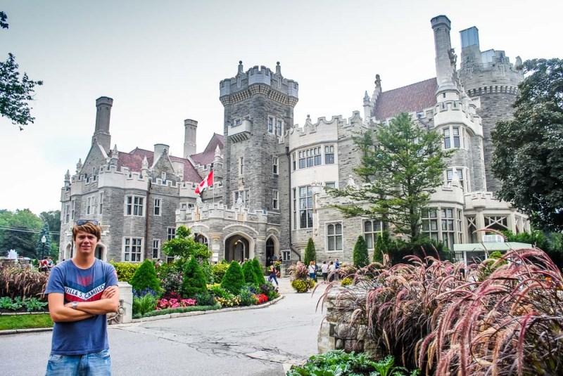 Casa Loma Castle Toronto Canada with me
