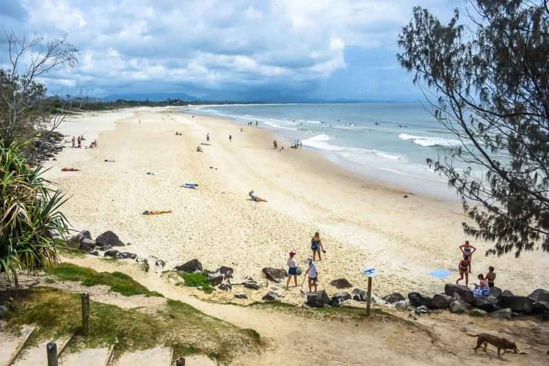 Belongil Beach Byron Bay