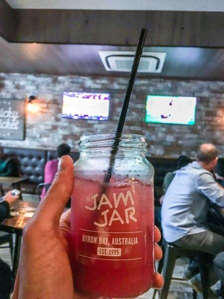 Jam jar at Sticky Wicket