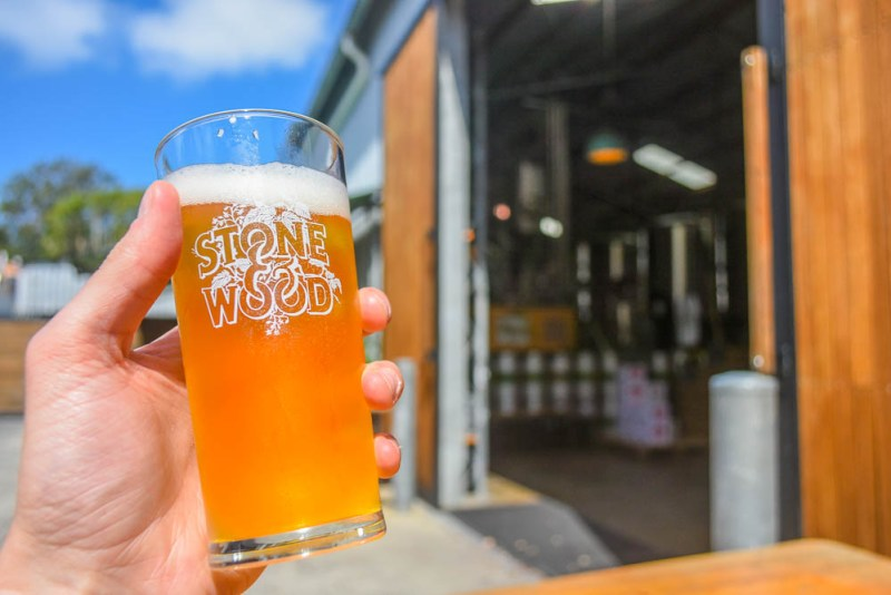 Stone and Wood Brewery Tour Byron Bay
