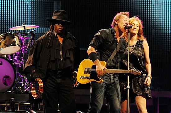 Bruce, Patti und der Big Man