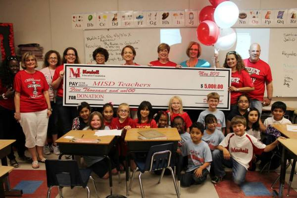 Check Presentation from Marshall Education Foundation