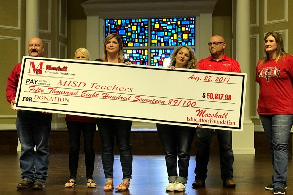 MISD Convocation Fall 2017 - MEF Big Check