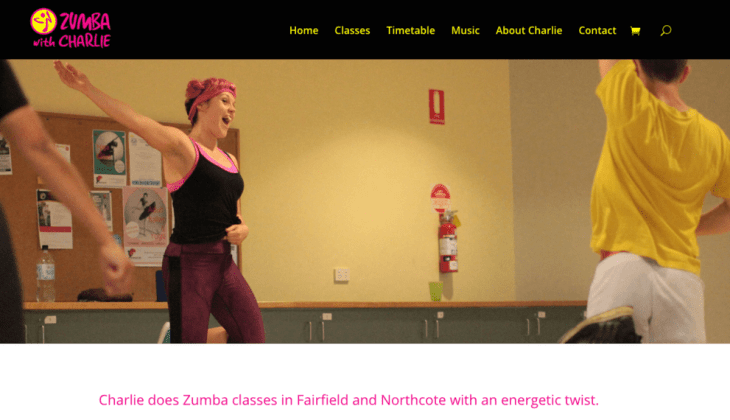 Zumba with Charlie