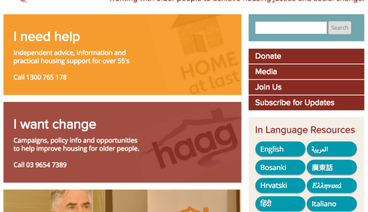 Housing for the Aged Action Group