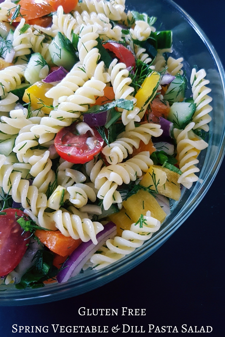 Gluten Free Pasta Salad - Back To My Roots