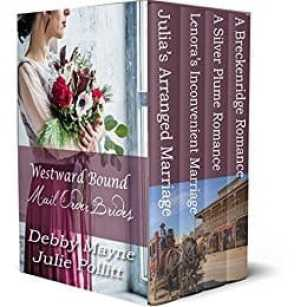 Journey to Colorado as four young women discover new homes in this western historical romance novelette collection. In an era when a marriage of convenience was a way of life for some men out west, falling in love was not a part of the plan. Escape into a time when a simple letter could change someone's destiny for better or for worse. Can these four women find a second chance at love out west on the Colorado Frontier, or will they forever remain unchanged?