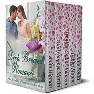 Sparks fly and coffee is poured as five couples find love in a coffee shop. Grab your favorite cuppa and settle back to enjoy these five Christian contemporary romances that are sure to warm your heart.