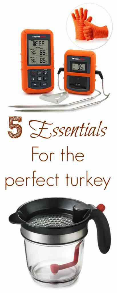 Five essentials for the perfect turkey