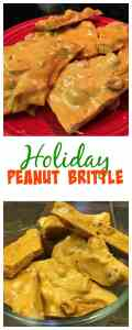 Make some holiday peanut brittle this year. Try this easy recipe to make gifts for friends and family for Thanksgiving, Christmas, or any other holiday.