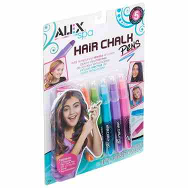 Hair chalk makes a great stocking stuffer for girls.