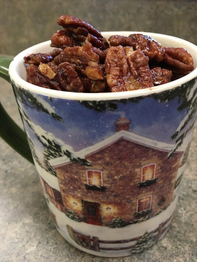 Easy Stovetop Candied Pecans - Back To My Southern Roots