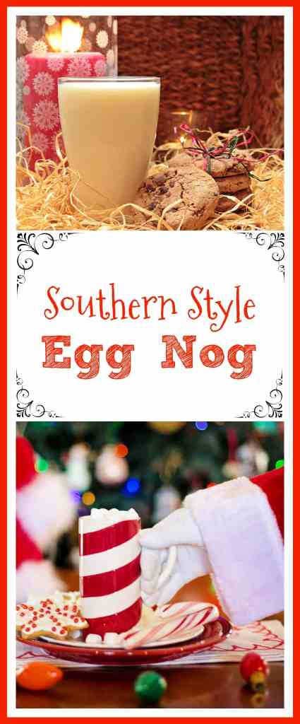 Southern Style Egg Nog - Back To My Southern Roots