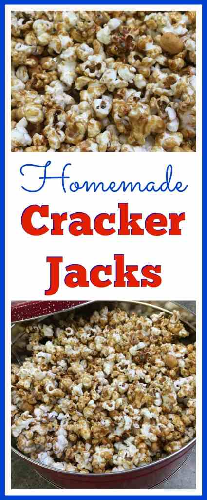 Homemade Cracker Jacks from Back To My Southern Roots
