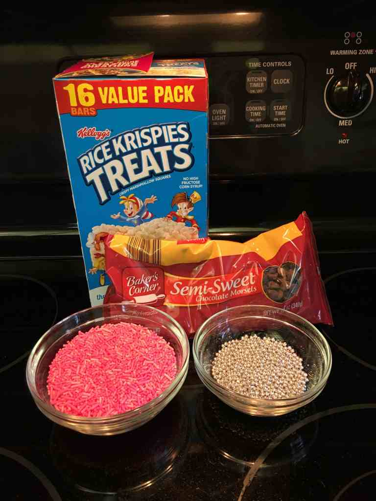 Chocolate-Dipped Rice Crispy Treat Valentine Squares - Back To My Southern Roots