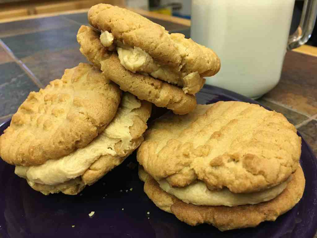 This easy recipe for Creamy Peanut Butter Sandwich Cookies is an easy and rich in taste. Try these for your next party.