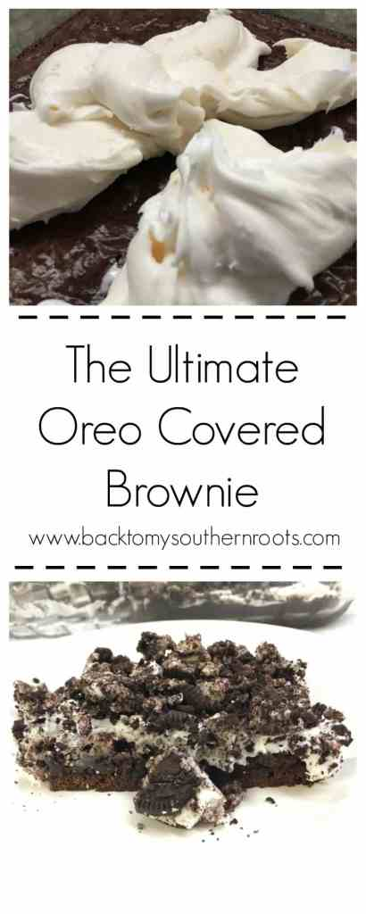If you love Oreo's, you are going to love this dessert. It's easy to make if you're in a rush, and a delicious treat.