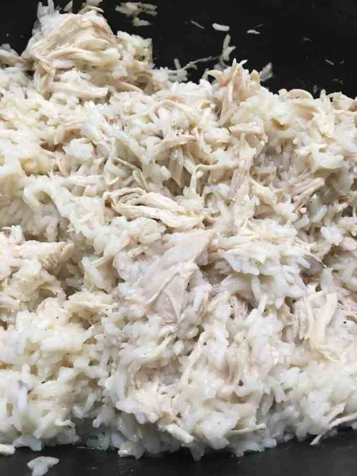Crock Pot Chicken and Rice is an easy meal to cook in the Crock Pot, I love the quick start and delicious meal.