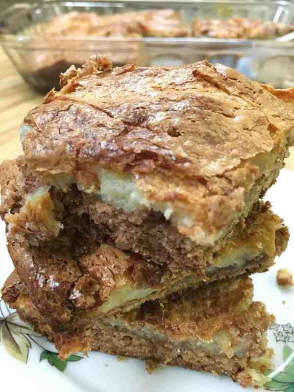 Spice Cake Pecan Chess Squares are an easy recipe to make from scratch. Spice Cake Pecan Chess Squares are a delicious dessert for the Thanksgiving and Christmas holidays.