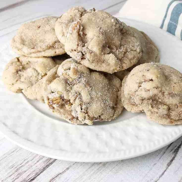 Pumpkin spice granola cookies