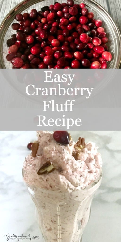 Cranberry Fluff - Crafting A Family