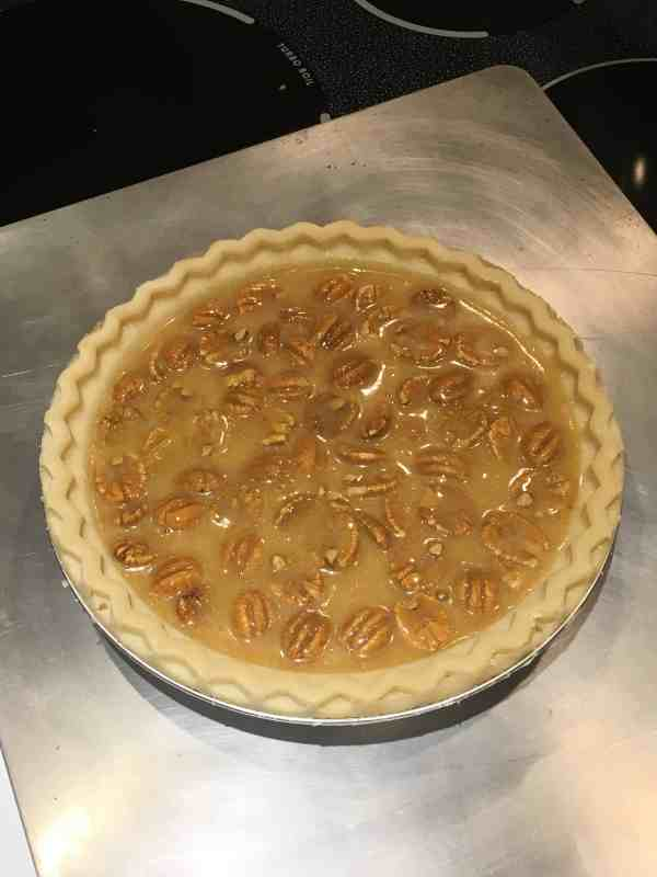 My dad's pecan pie recipe is a simple, delicious and easy recipe to make. It is great for holidays, including Thanksgiving and Christmas.