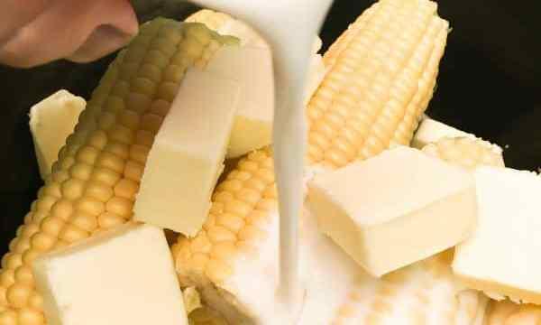 Crock Pot Corn on the Cob with Coconut Milk