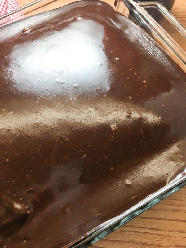 Coca-Cola Cake is an easy homemade dessert recipe.