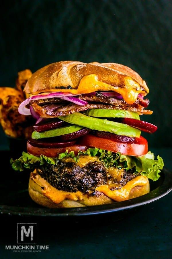 Best Hamburger Recipe from Munchkintime