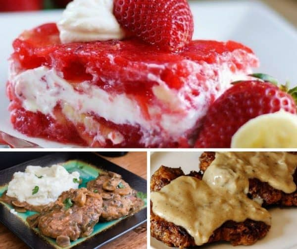 Foodie Friday desserts and dinners.