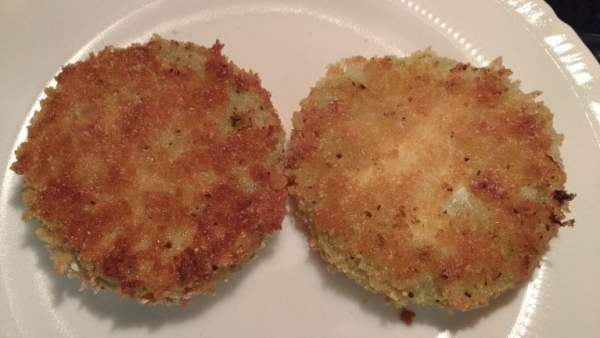 "Oven ""Fried"" Green Tomatoes - Somewhat Awry"