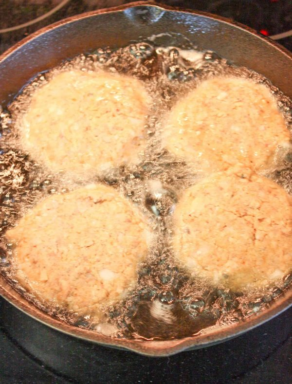 This is the best salmon patty recipe. This is an easy salmon patty recipe.