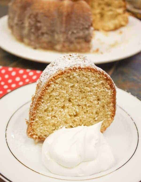 Kentucky Butter Cake is moist with a touch of a crunchy crust, and is one of the best butter cake recipes from scratch.