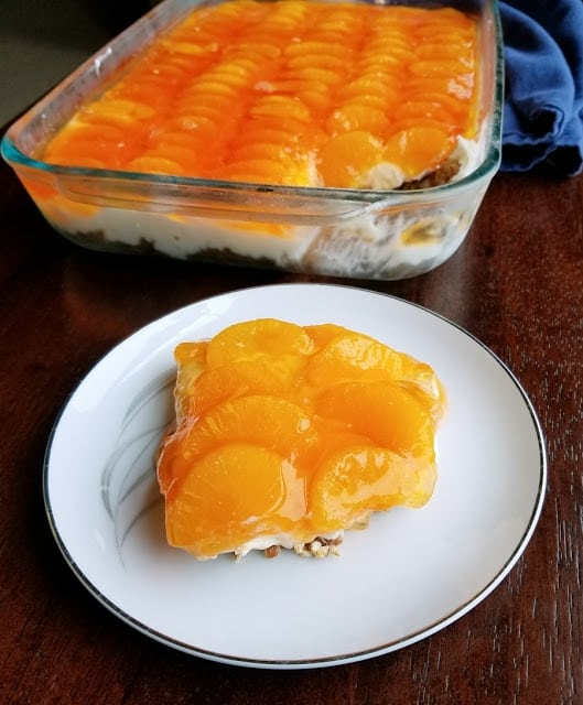 Orange Creamsicle Pretzel Salad from Cooking With Carlee